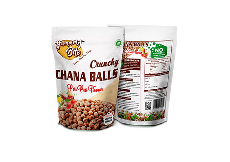 Chana Balls - Peri Peri