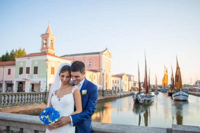 Il servizio fotografico di matrimonio a Cesenatico di Ilaria e Simone. Location: L'Antico Casale