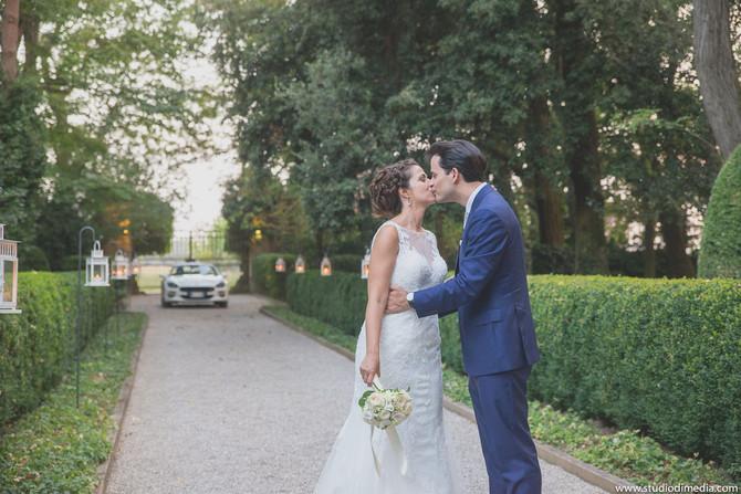 Il matrimonio a Villa Rota di Carlotta e Andrea