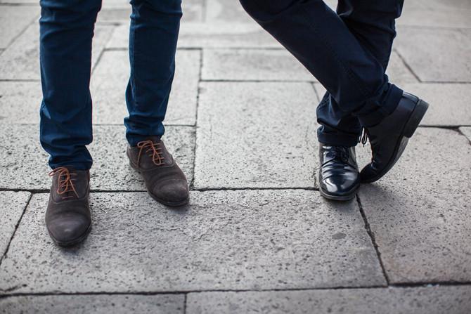 Men engagement a Venezia: Ciro e Alessandro
