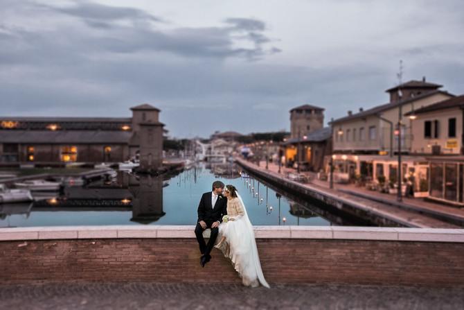 Matrimonio d'inverno a Villa Rota: Carolina e Andrea