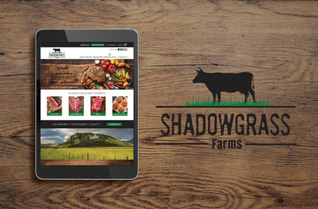 Shadowgrass Farms Logo & Website