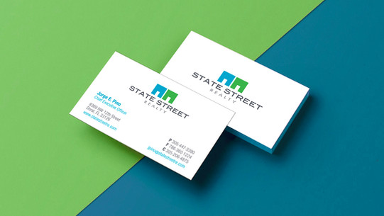 State Street Realty Logo & Stationery