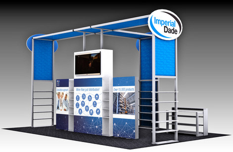 Imperial Dade Tradeshow Display