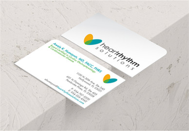 Heart Rhythm Solutions Logo & Stationery