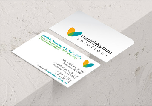 Heart Rhythm Solutions Logo & Stationery