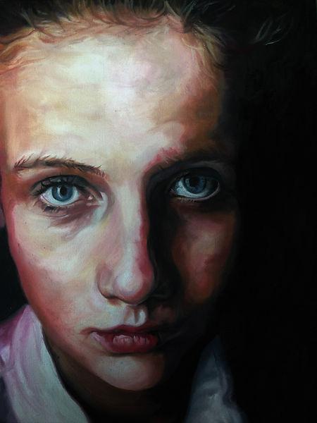 Elaine Robertson portrait of sister 1.jp