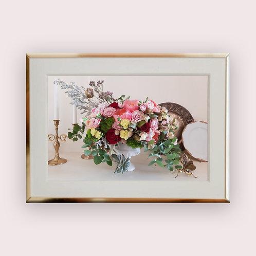 ROCOCO תמונת פרחים