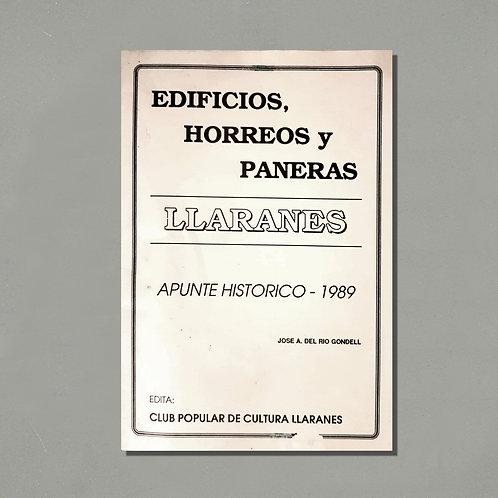Edificios, hórreos y paneras de Llaranes. Apunte histórico | José Ángel del Río
