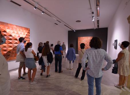 Visita del CEAG a las exposiciones de Benjamín Menéndez y Federico Granell