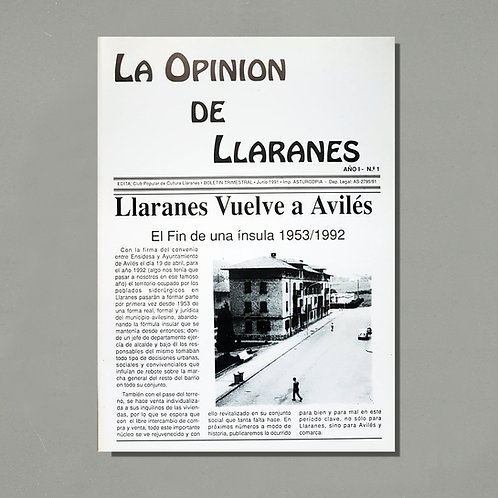 Revista «La Opinión de Llaranes» [1991-2008]
