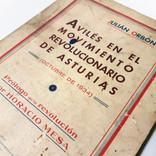 «Avilés en el movimiento revolucionario de Asturias (octubre de 1934)», de Julián Orbón (1934).