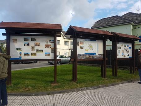 Avilés instala en Llaranes el punto de información patrimonial solicitado