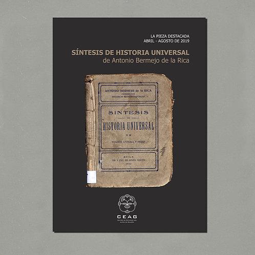 «Síntesis de Historia Universal», de Antonio Bermejo de la Rica