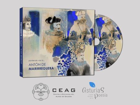 El CEAG edita un disco con poemas de Antón de Marirreguera