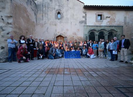 Setenta personas asistieron a la visita al Monasterio de Raíces