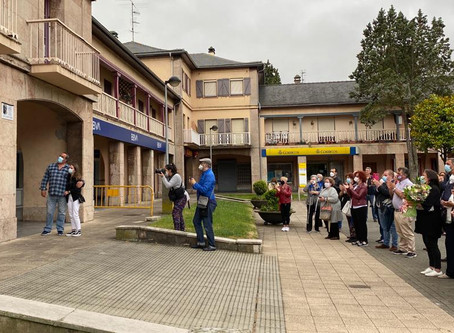 El CEAG participa en el homenaje vecinal a José Ángel del Río Gondell