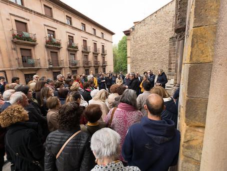 Vidal de la Madrid interpreta para más de ochenta personas la Capilla de Las Alas