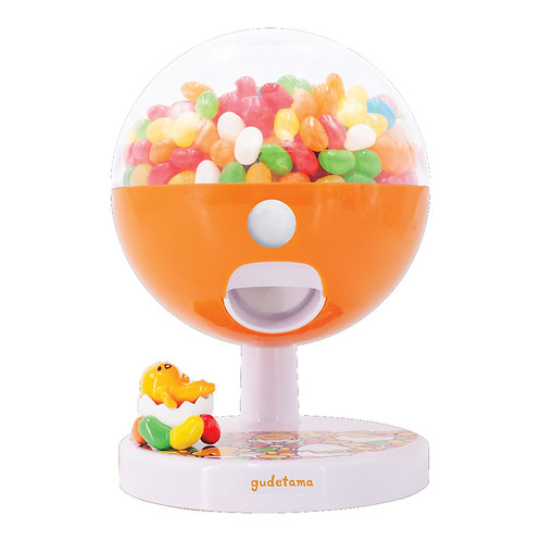 Gudetama Touch Sensor Candy Machine with 28g Jelly Belly