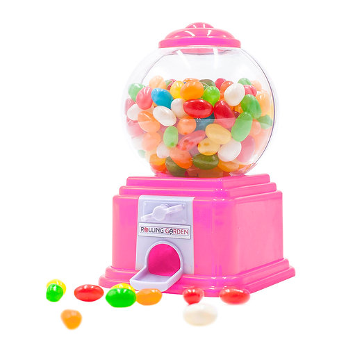 Pink Mini Candy Machine & Coin Bank