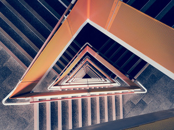 Abstract Triangle 2