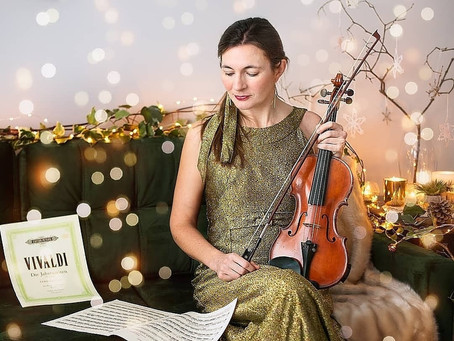 Behind the Musical Advent Calendar: Lucy Melvin, Violinist