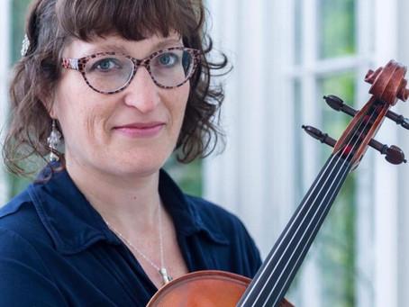 Meet the Advent Calendar Musicians: Ros Hanson-Laurent - Viola