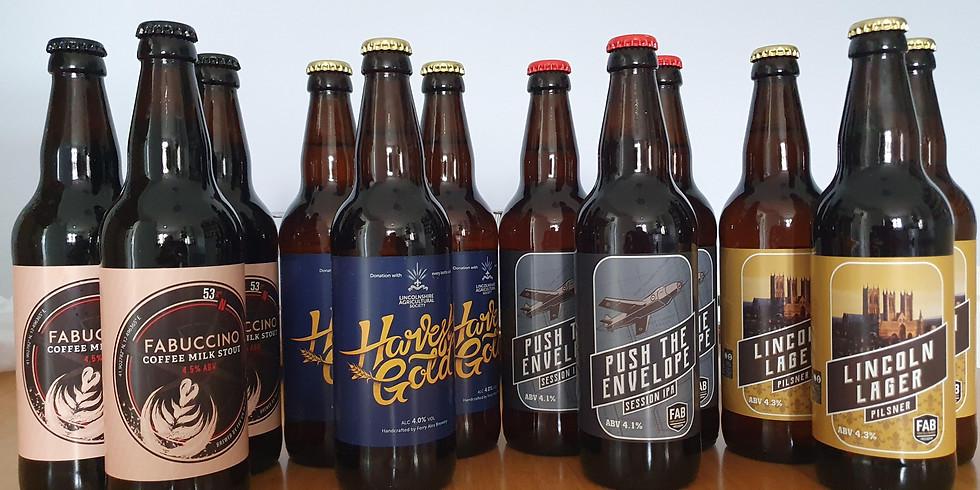 Ferry Ales Brewery Beer Tasting