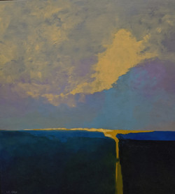 Blue on the Horizon -SOLD
