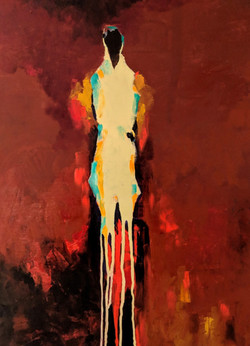 Shadows on Fire - SOLD
