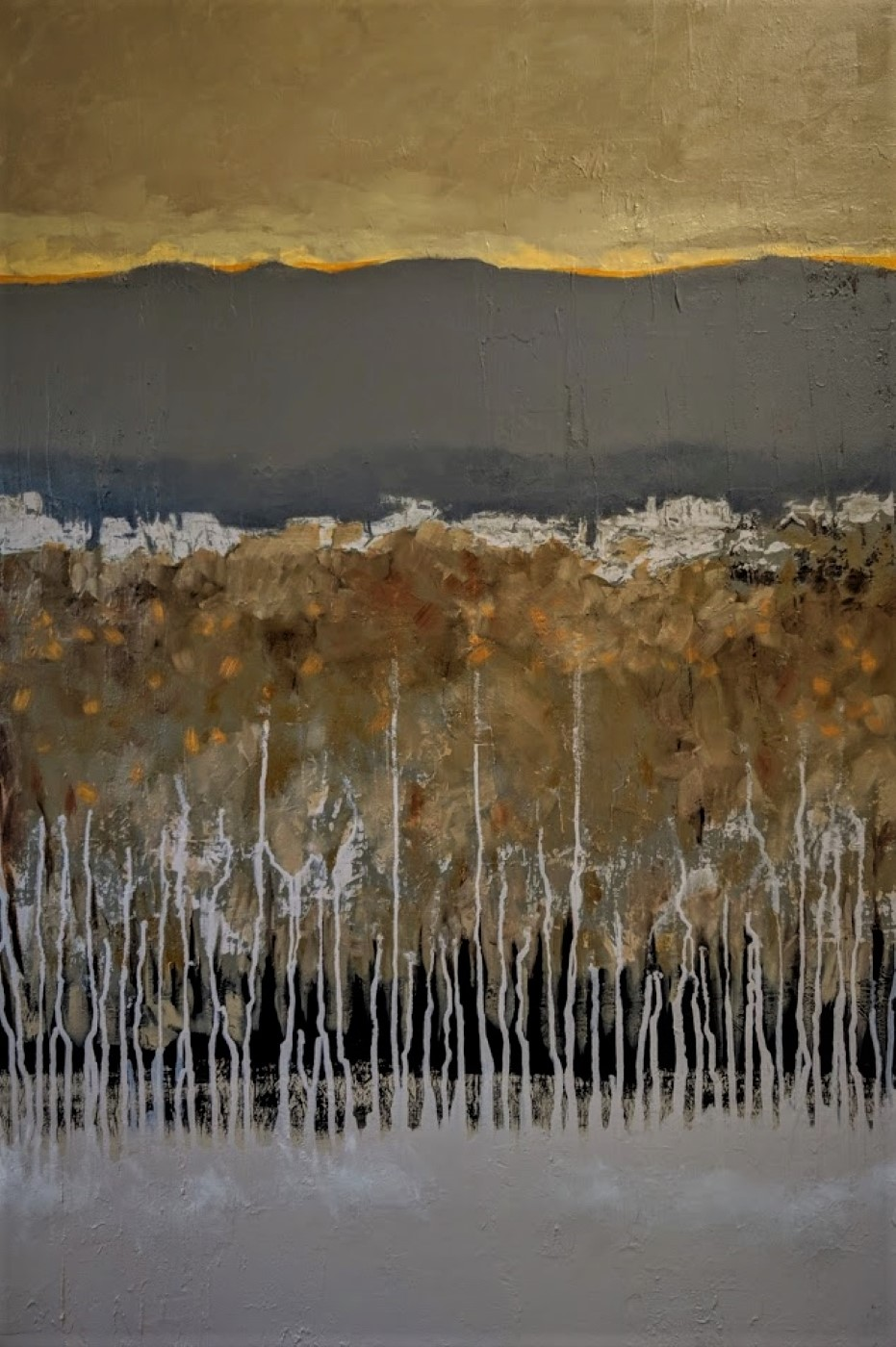 Valley Snow - SOLD