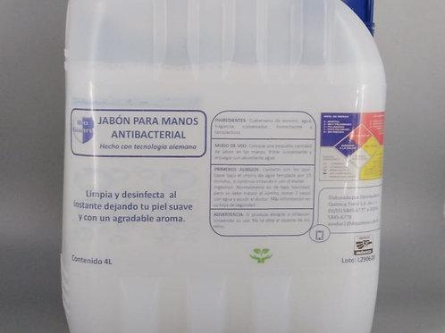 Jabón Líquido Antibacterial  4 L