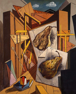 "Exhibition ""de Chirico - Ventrone"""