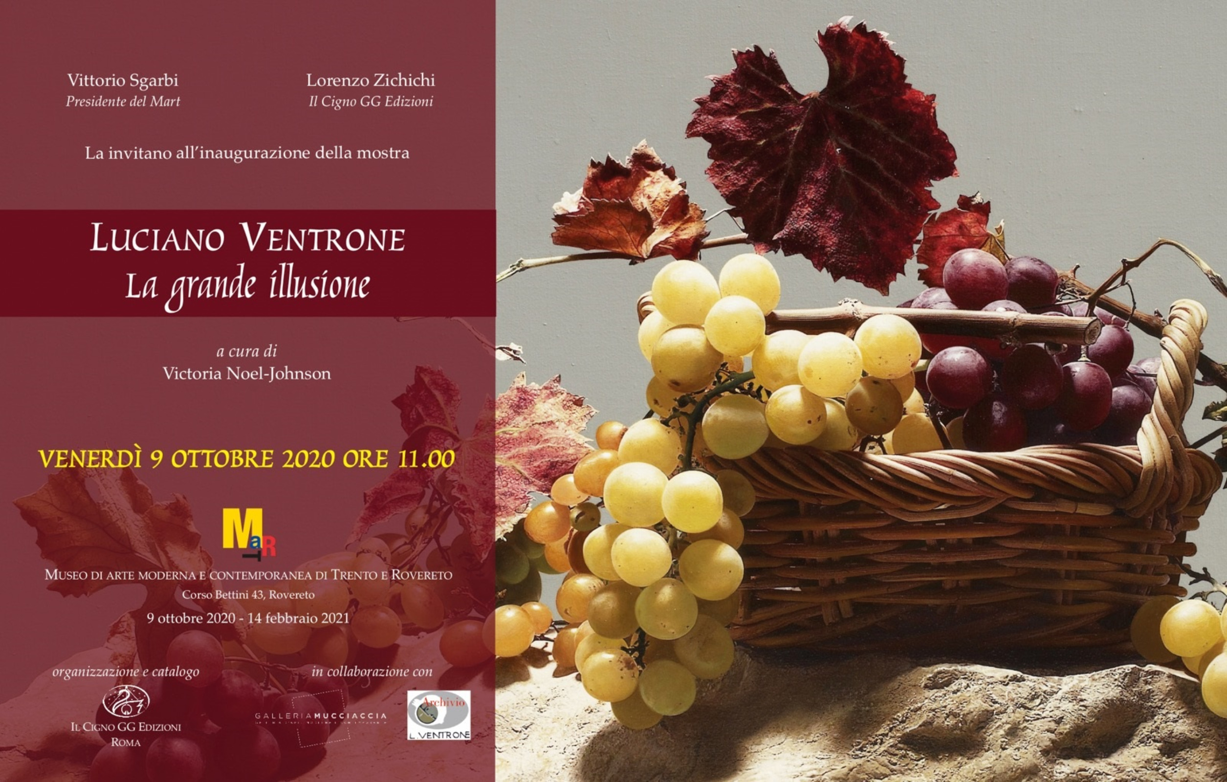 Exhibition 'Luciano Ventrone. La grande illusione', MART, Rovereto