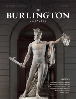 Burlington Magazine, London,Nov 2019