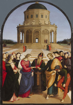 'The Marriage of the Virgin' by Raphael.
