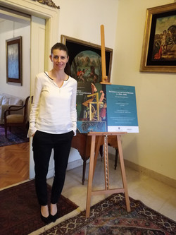 Book launch in Rome