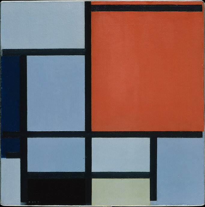 Piet Mondrian, Composition, 1921.jpg