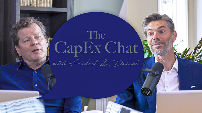 Producerende av videopodden the CapEx Chat