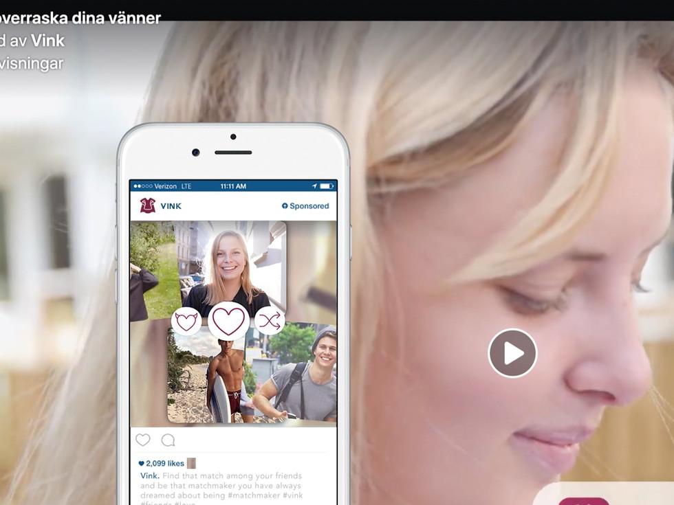 Digitala annonser + marknadsföring / Vink