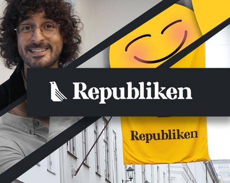 Medieproduktion och företagsserie åt Republiken