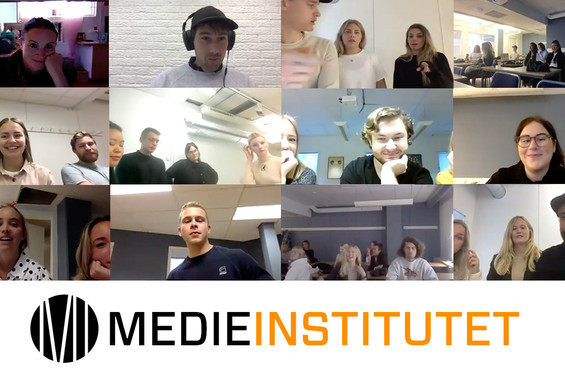Utbildning i att skapa film för digitala kanaler på Medieinstitutet
