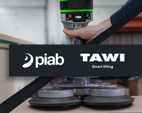 Löpande medieproduktion åt Piab & Tawi