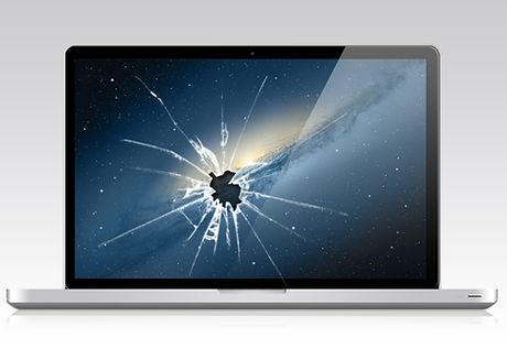 Laptop Cracked Screen