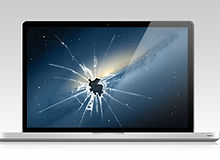 trit sg damaged cracked macbook screen repair
