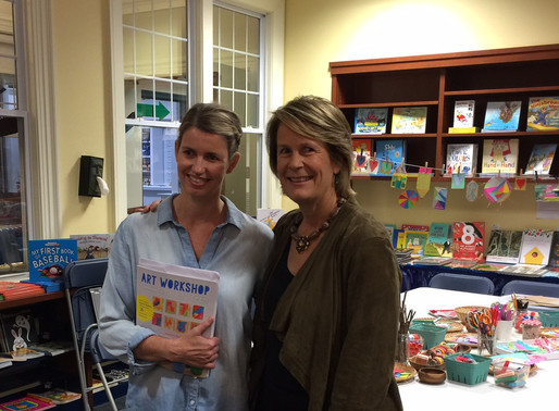 Art with Children: Visiting Authors Barbara Rucci and Betsy McKenna