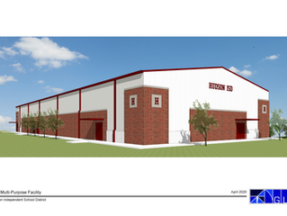 Construction Update: Hudson ISD Multi-Purpose Building