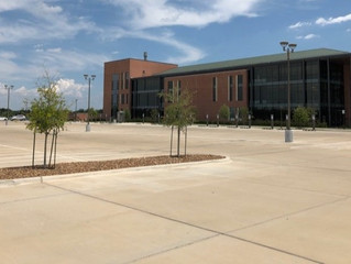 Completed Project: TAMUS' RELLIS Campus Parking Lot