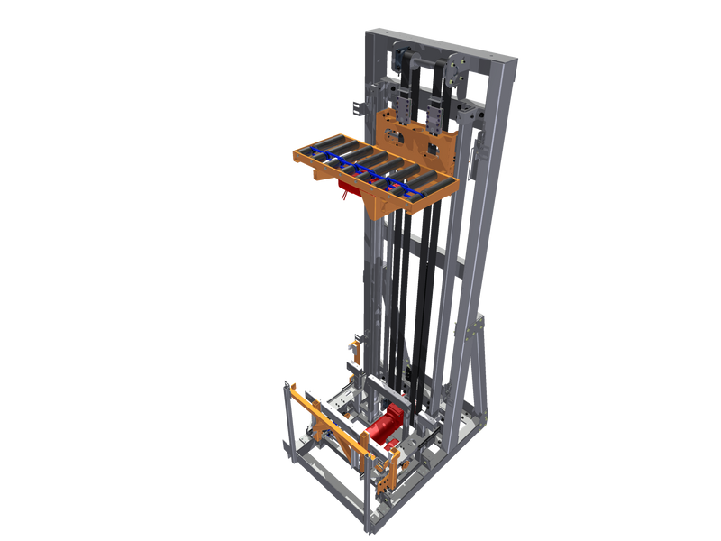Cantilever VRC 3D Drawing