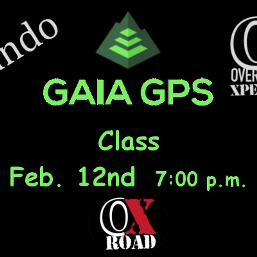 Gaia GPS Navigation Class / Orlando